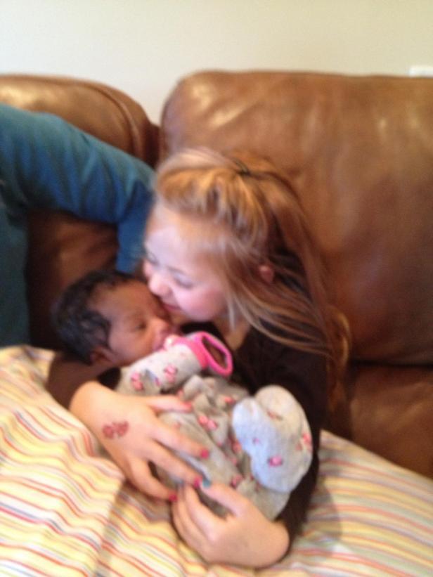 Maci and Baby Nia