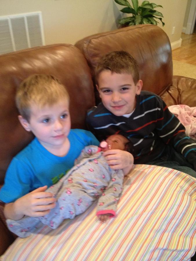 Owen, Sam, and Nia