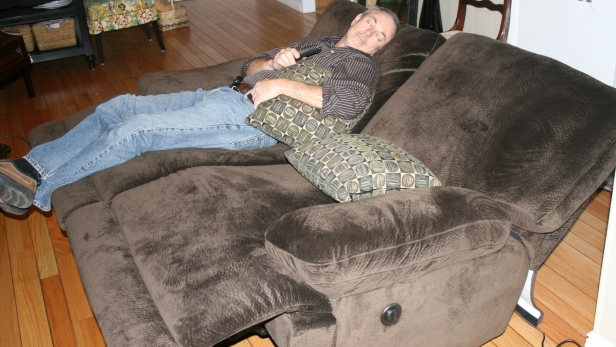 Steve in the new recliners